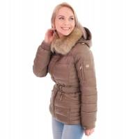 Пуховик бежевый укороченный - Интернет магазин брендовой одежды BOMBABRANDS.RU