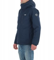 Куртка синяя с меховым подкладом из шерпы - Интернет магазин брендовой одежды BOMBABRANDS.RU