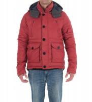 Куртка утепленная красного цвета - Интернет магазин брендовой одежды BOMBABRANDS.RU