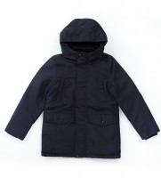 Парка Back to School синего цвета - Интернет магазин брендовой одежды BOMBABRANDS.RU