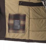 Пуховик Respira с мехом темно серый - Интернет магазин брендовой одежды BOMBABRANDS.RU
