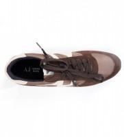 Кроссовки мужские коричневые с сеткой - Интернет магазин брендовой одежды BOMBABRANDS.RU
