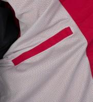 Ветровка с капюшоном в воротнике красная - Интернет магазин брендовой одежды BOMBABRANDS.RU