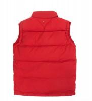 Жилет пуховый цвет красный - Интернет магазин брендовой одежды BOMBABRANDS.RU