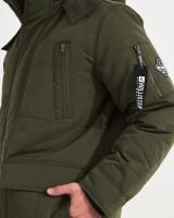 Парка пуховая Down Blend Parka Green - Интернет магазин брендовой одежды BOMBABRANDS.RU