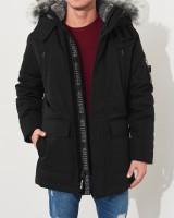 Парка пуховая Down Blend Parka Black - Интернет магазин брендовой одежды BOMBABRANDS.RU