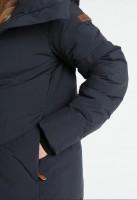 Пальто Abbie Navy пуховое - Интернет магазин брендовой одежды BOMBABRANDS.RU