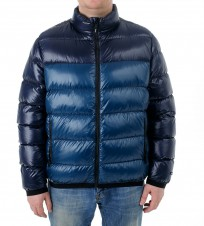 Пуховик  Shiny Puffer jacket Navy - Интернет магазин брендовой одежды BOMBABRANDS.RU