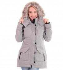 Пуховик Down Parka Grey - Интернет магазин брендовой одежды BOMBABRANDS.RU