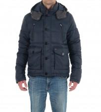 Куртка утепленная синего цвета - Интернет магазин брендовой одежды BOMBABRANDS.RU