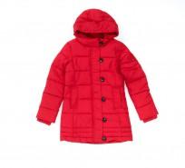 Пальто Tommy Hilfiger Back To School красное - Интернет магазин брендовой одежды BOMBABRANDS.RU