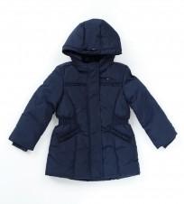Пальто Tommy Hilfiger Back To School синее - Интернет магазин брендовой одежды BOMBABRANDS.RU
