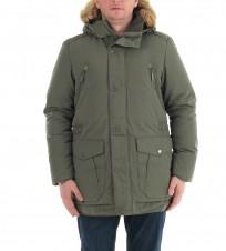 Пуховик M5425R зеленый - Интернет магазин брендовой одежды BOMBABRANDS.RU