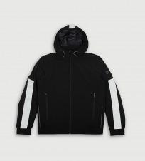 Ветровка с капюшоном черная - Интернет магазин брендовой одежды BOMBABRANDS.RU