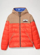 Пуховик Ater оранжевый - Интернет магазин брендовой одежды BOMBABRANDS.RU