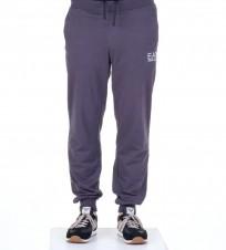 Брюки спортивные EA7 на резинке синие - Интернет магазин брендовой одежды BOMBABRANDS.RU