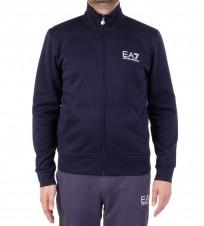 Олимпийка EA7 3A259 274030  синяя - Интернет магазин брендовой одежды BOMBABRANDS.RU