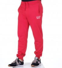 Брюки спортивные EA7 на резинке красные - Интернет магазин брендовой одежды BOMBABRANDS.RU