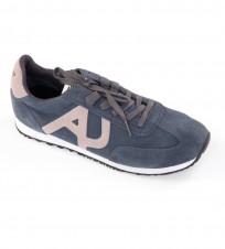 Кроссовки синие с бежевым - Интернет магазин брендовой одежды BOMBABRANDS.RU