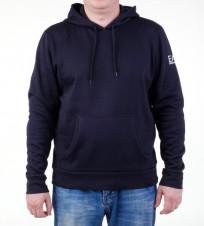 Толстовка EA7 3A259 274454 с капюшоном синяя - Интернет магазин брендовой одежды BOMBABRANDS.RU