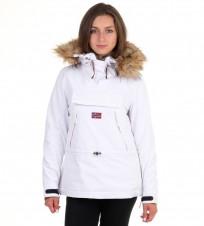 b673a833c Анорак Skidoo Bianco with fur - Интернет магазин брендовой одежды  BOMBABRANDS.RU