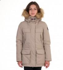 a38c70575 Парка Skidoo Open Beige with fur - Интернет магазин брендовой одежды  BOMBABRANDS.RU