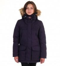 Парка Skidoo Open Navy with fur - Интернет магазин брендовой одежды BOMBABRANDS.RU