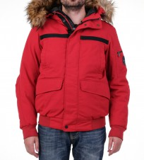 Пуховик Achesson Short Red Уценка - Интернет магазин брендовой одежды BOMBABRANDS.RU