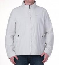 Ветровка с капюшоном в воротнике серая - Интернет магазин брендовой одежды BOMBABRANDS.RU