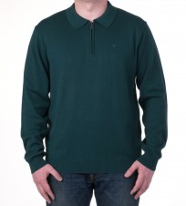Джемпер с 1/3 молнии зеленый - Интернет магазин брендовой одежды BOMBABRANDS.RU