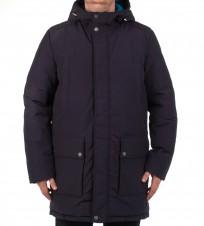 Куртка удлиненная m6428k dark navy - Интернет магазин брендовой одежды BOMBABRANDS.RU