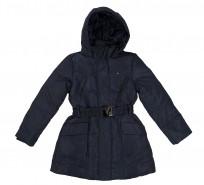 Пальто пуховое Belted down mini jacket - Интернет магазин брендовой одежды BOMBABRANDS.RU