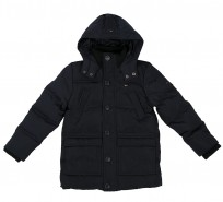 Пуховик Back to School navy - Интернет магазин брендовой одежды BOMBABRANDS.RU