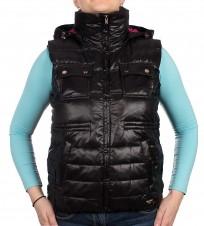 Жилет пуховый c капюшоном - Интернет магазин брендовой одежды BOMBABRANDS.RU
