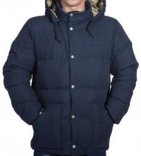 Пуховик Broom Jacket navy - Интернет магазин брендовой одежды BOMBABRANDS.RU