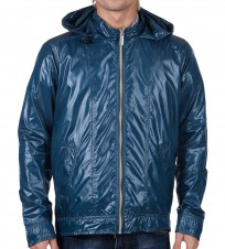 Ветровка Calvin Klein мужская синего цвета - Интернет магазин брендовой одежды BOMBABRANDS.RU