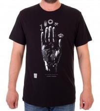 Футболка Hand of Philosopher - Интернет магазин брендовой одежды BOMBABRANDS.RU