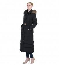 Пальто пуховое черное - Интернет магазин брендовой одежды BOMBABRANDS.RU