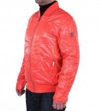 Ветровка бомбер оранжевая - Интернет магазин брендовой одежды BOMBABRANDS.RU