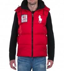 Жилет Big Pony Usa Red - Интернет магазин брендовой одежды BOMBABRANDS.RU