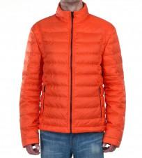 Пуховик Dampan оранжевый - Интернет магазин брендовой одежды BOMBABRANDS.RU
