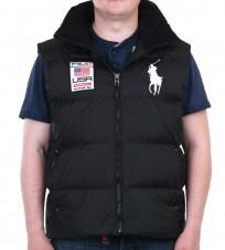 Жилет пуховый Big Pony Usa black - Интернет магазин брендовой одежды BOMBABRANDS.RU