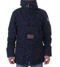 Парка Skidoo Open Cotton Navy - Интернет магазин брендовой одежды BOMBABRANDS.RU