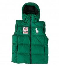 Жилет Big Pony Usa green - Интернет магазин брендовой одежды BOMBABRANDS.RU