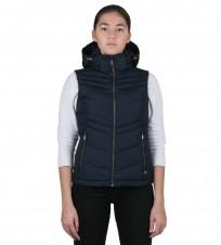 Жилет пуховый синий - Интернет магазин брендовой одежды BOMBABRANDS.RU