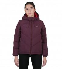 Пуховик бордовый - Интернет магазин брендовой одежды BOMBABRANDS.RU
