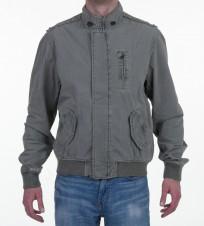 Ветровка бомбер серая - Интернет магазин брендовой одежды BOMBABRANDS.RU