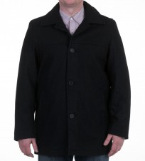 Пальто Melton Coat Black - Интернет магазин брендовой одежды BOMBABRANDS.RU