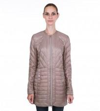 Пальто Lily quilted coat beige - Интернет магазин брендовой одежды BOMBABRANDS.RU