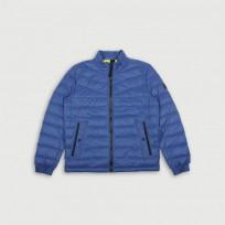 Пуховик стеганый синий - Интернет магазин брендовой одежды BOMBABRANDS.RU